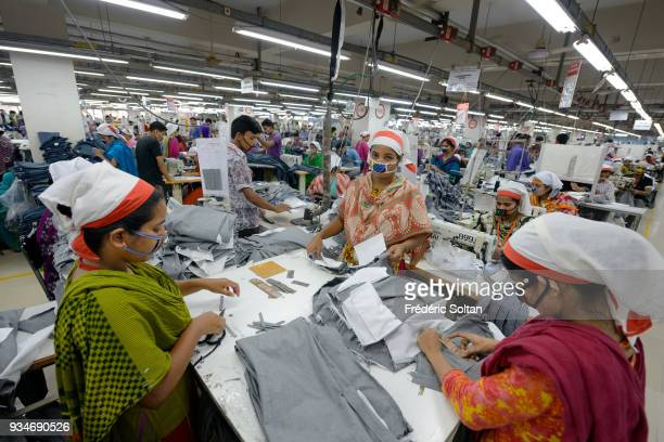 The capital city of Dhaka Textile factory in Savar in the suburbs of Dhaka where work about six thousands employees Dhaka is the capital of...