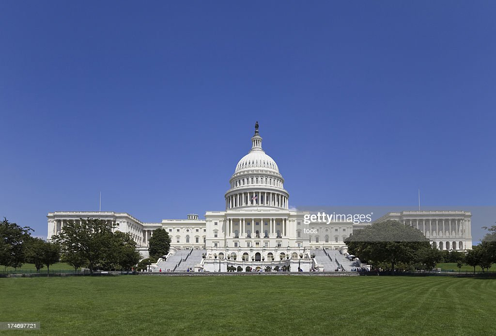 The Capitol Building - Seat of United States Senate (XXL) : Stock Photo