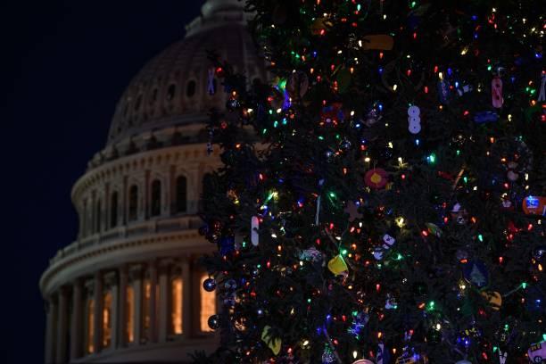 DC: Speaker Pelosi Hosts US Capitol Christmas Tree Lighting Ceremony