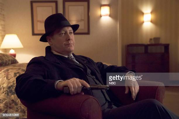 THE BLACKLIST 'The Capricorn Killer' Episode 516 Pictured James Spader as Raymond 'Red' Reddington