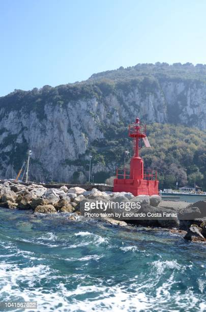 the capri's view from the sea - leonardo costa farias stock photos and pictures