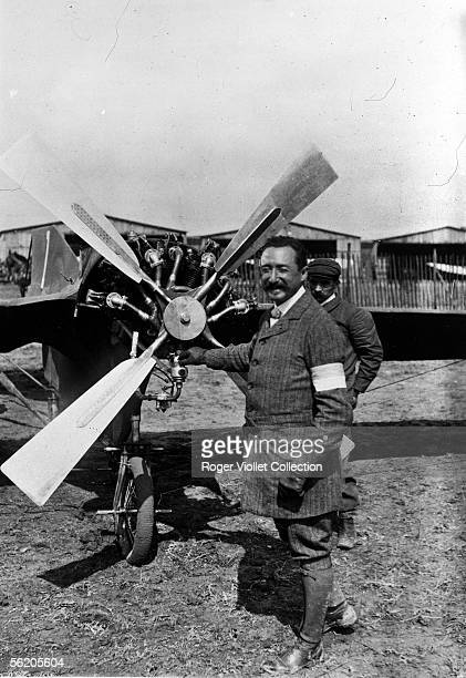 The captain Ferdinand Ferber officer and French aviator