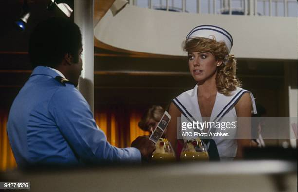 """The Captain's Replacement/Sly as A Fox/ Here Comes the Bride...Maybe """" which aired on January 15, 1983. TED LANGE;JENILEE HARRISON"""