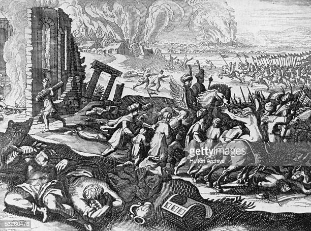 The capture and sacking of Constantinople by Turkish troops under Mohammed II 29th May 1453 The Turkish victory marked the end of the Byzantine...