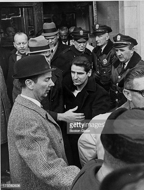 The capture of Albert DeSalvo Leaving Lynn Police headquarters for Middlesex Court