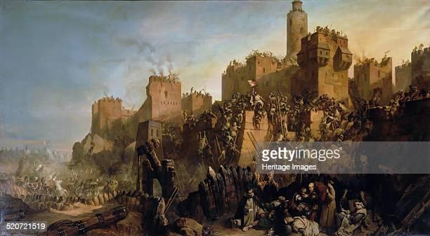 The capture of Jerusalem by Jacques de Molay in 1299 Found in the collection of Musée de l'Histoire de France Château de Versailles