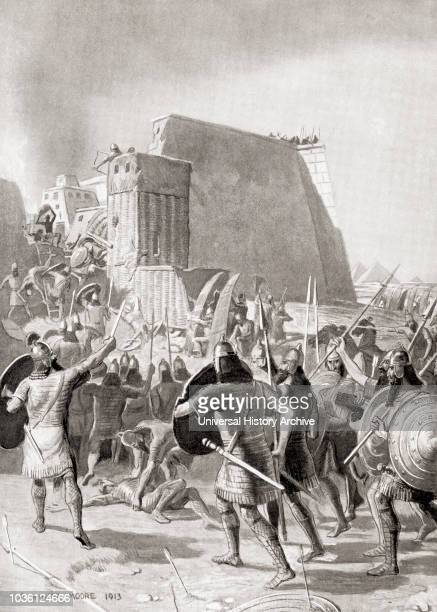 The capture of Memphis Egypt by the Assyrian king Esarhaddon 671 BC Esarhaddon king of the NeoAssyrian Empire who reigned 681 669 BC From...