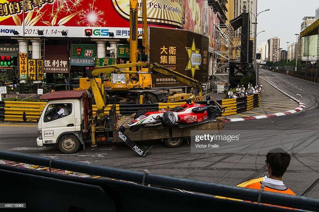 Macau Formula Three Grand Prix - 60th Macau Grand Prix : News Photo