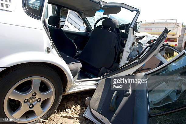 The car that Carl Pistorius was driving when he had an accident on August 2 2014 in Pretoria South Africa Carl Pistorius was involved in a car...