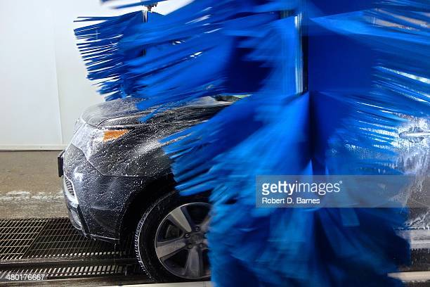 the car wash - car wash brush stock photos and pictures