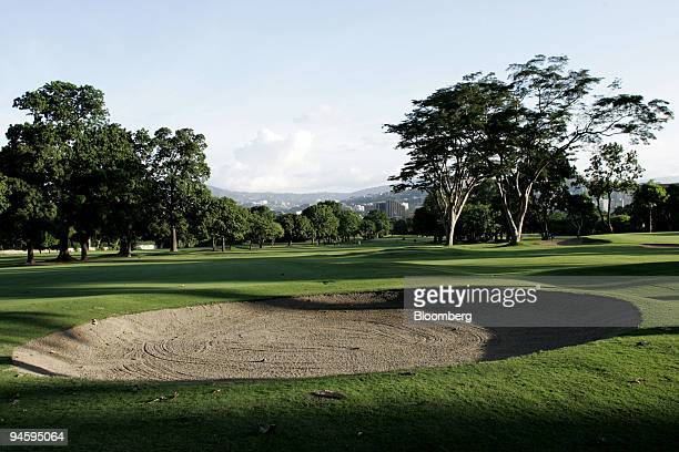 The Caracas Country Club golf course in Caracas Venezuela is pictured on Wednesday August 30 2006 Caracas Country Club President Fernando Zozaya said...