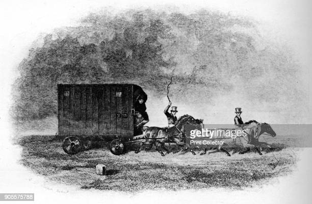 'The Caravan', 19th century, . From British Sports and Sportsmen Part 1. [British Sports and Sportsmen, London, 1911]. Artist Unknown.