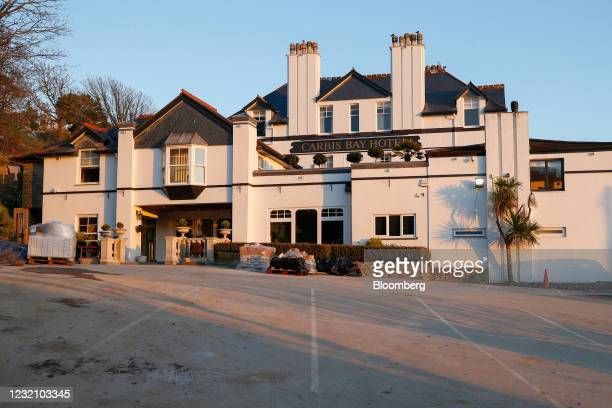 The Carbis Bay Hotel & Estate, where the G7 summit talks are set to be held, in Carbis Bay, U.K., on Saturday, April 3, 2021. U.K. Prime Minister...