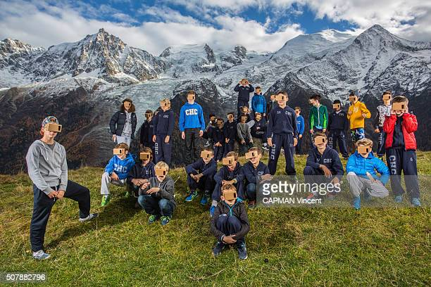 the cardboard by google invented by to french people of the Google cultural insitute who enables to climb the Mont Blanc with big sportsmen thanks to...