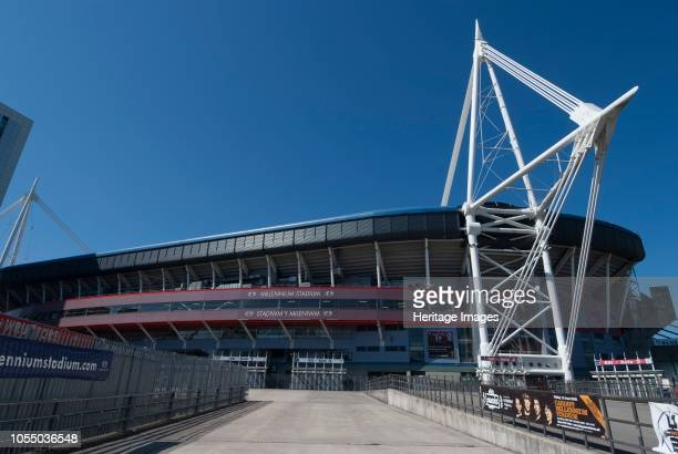 The Cardiff Millennium Stadium now renamed the Principality Stadium opened in 1999 and designed by Bligh Lobb Sports Architecture and the home of...