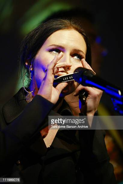 The Cardigans during MIDEM 2003 The Cardigans perform at The Personality of the Year Party at Carlton Hotel in Cannes