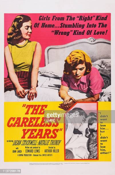 The Careless Years poster top from left Maureen Cassidy Natalie Trundy bottom from left Dean Stockwell Natalie Trundy 1957