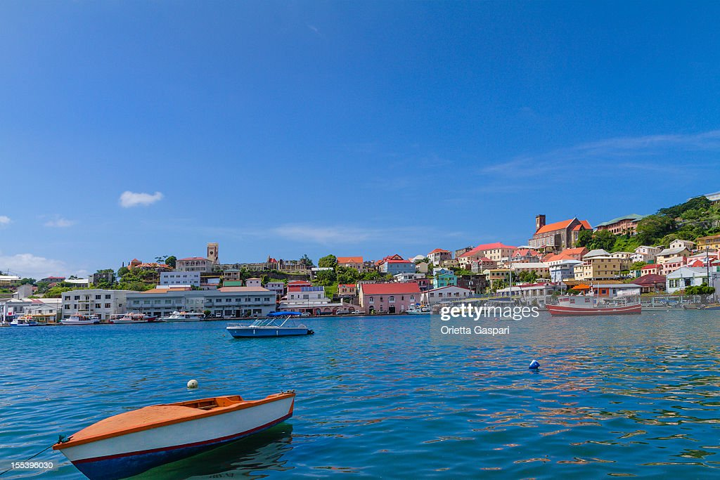 The Carenage, St. George's, Grenada W.I. : Stock Photo