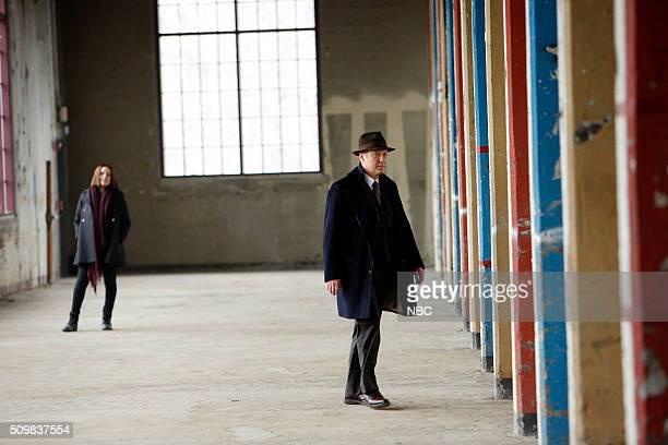 THE BLACKLIST 'The Caretaker' Episode 316 Pictured Megan Boone as Liz Keen James Spader as Red Reddington