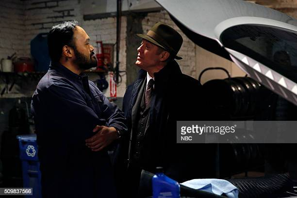 THE BLACKLIST 'The Caretaker' Episode 316 Pictured Orville Mendoza as Semo James Spader as Red Reddington