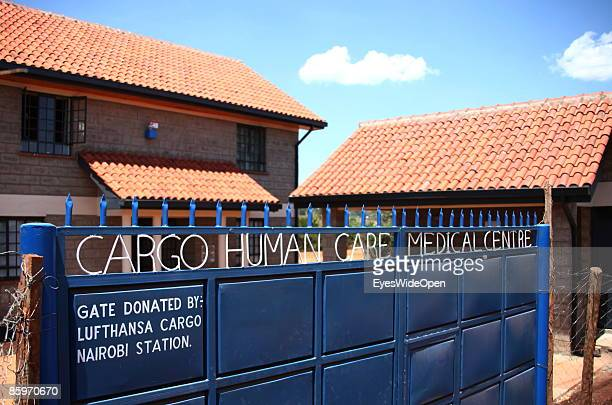 The Cargo Human Care Social project by Lufthansa Airline in Cooperation with different sponsors on March 20 2009 in Nairobi Kenya