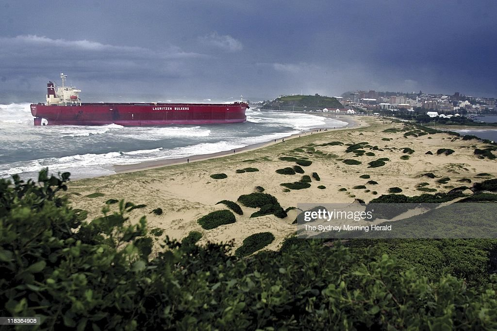 Stranded cargo ship mv pasha bulker pictures getty images the cargo ship mv pasha bulker which has run aground at the cowrie hole publicscrutiny Image collections