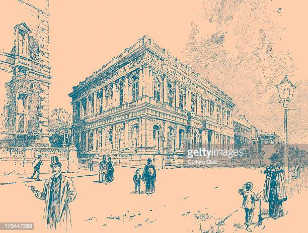 The Carlton Club Pall Mall London c 1874 Conservative gentlemen's club London Founded in 1832