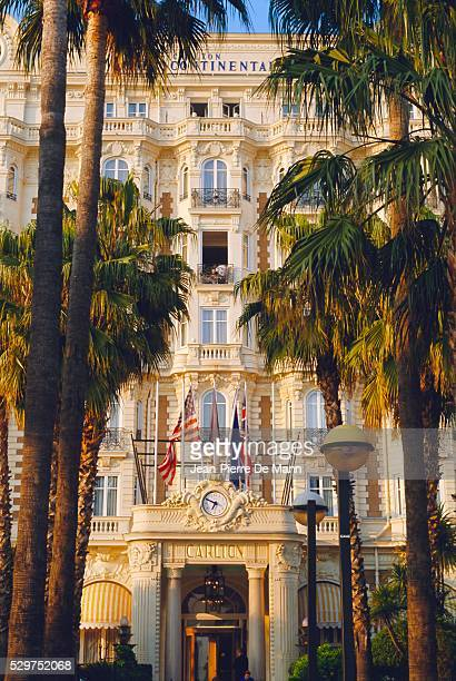 The Carlton Hotel on the Croisette, Cannes, Alpes Maritime, France