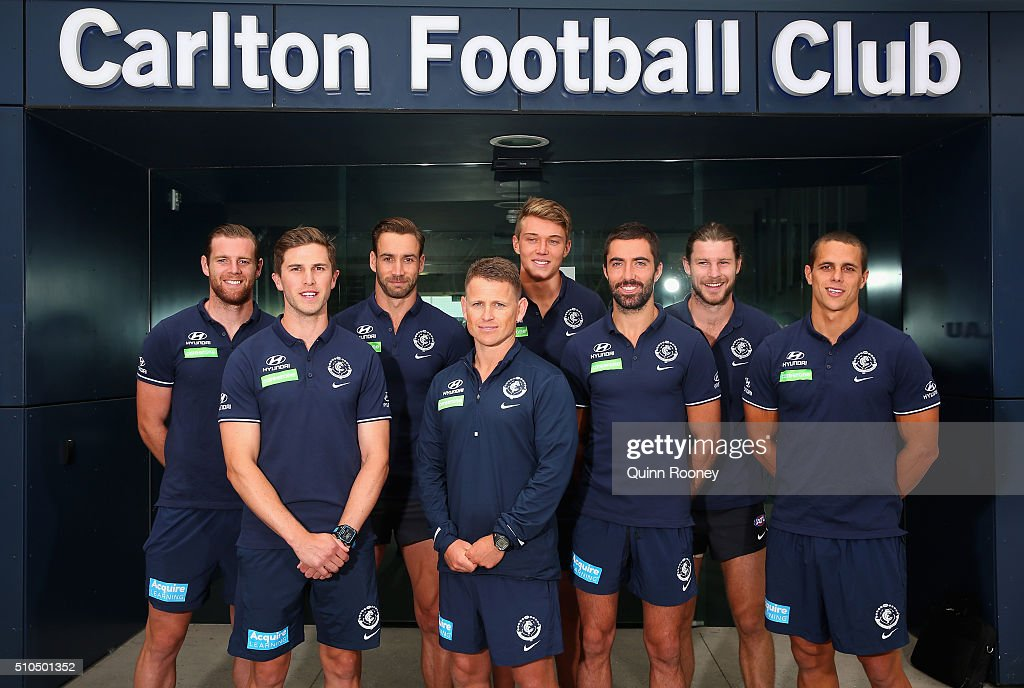 Carlton Blues Media Session