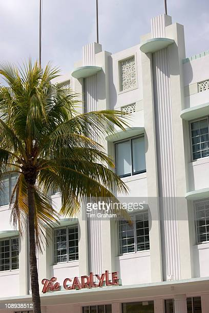 The Carlyle luxury condo vacation rental on Ocean Drive South Beach Miami Florida USA
