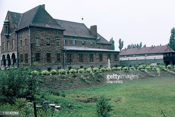 The Carmelite convent in Auschwitz, Poland in September, 1989.