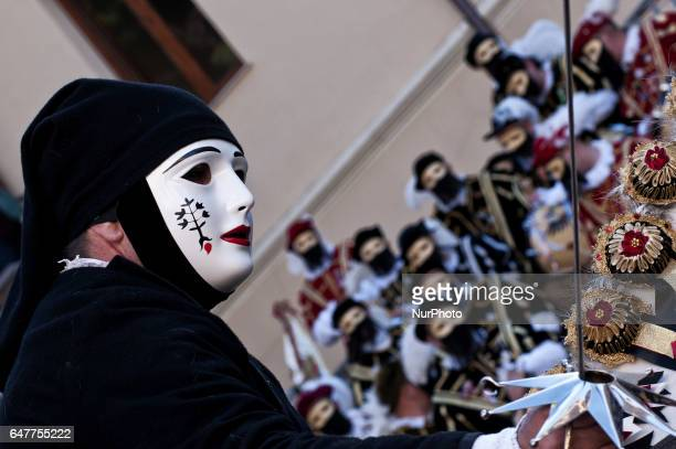 The Carnival in Sardinia Italy has many faces fascinatingCarnivals horseduring which the riders in the race must put a metal starThe ancient one of...