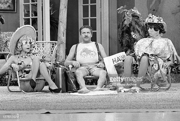 The Carol Burnett Show featuring from left Carol Burnett Tim Conway and Vicki Lawrence Image dated November 4 1977