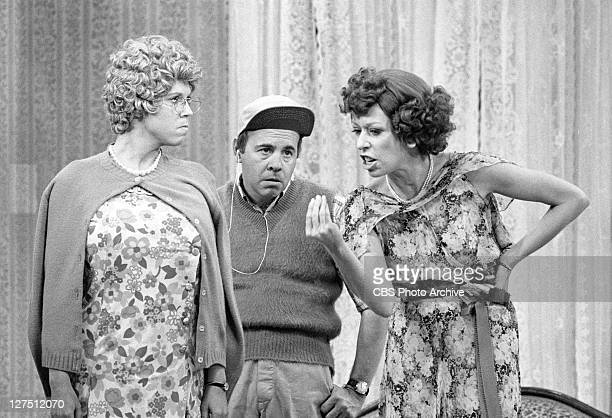 The Carol Burnett Show featuring from left Vicki Lawrence Carol Burnett Tim Conway Image dated December 2 1977