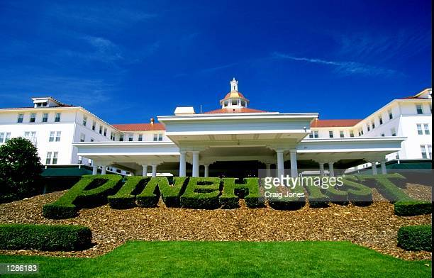 The Carolina Hotel at the Pinehurst Resort Country Club in North Carolina USA Mandatory Credit Craig Jones /Allsport