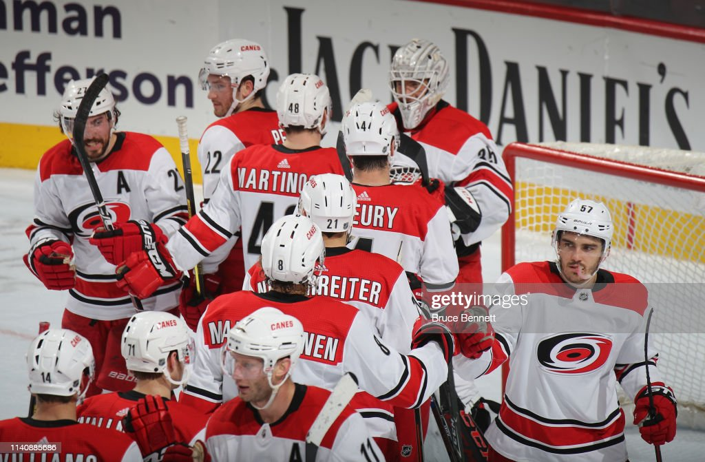 Carolina Hurricanes v Philadelphia Flyers : News Photo