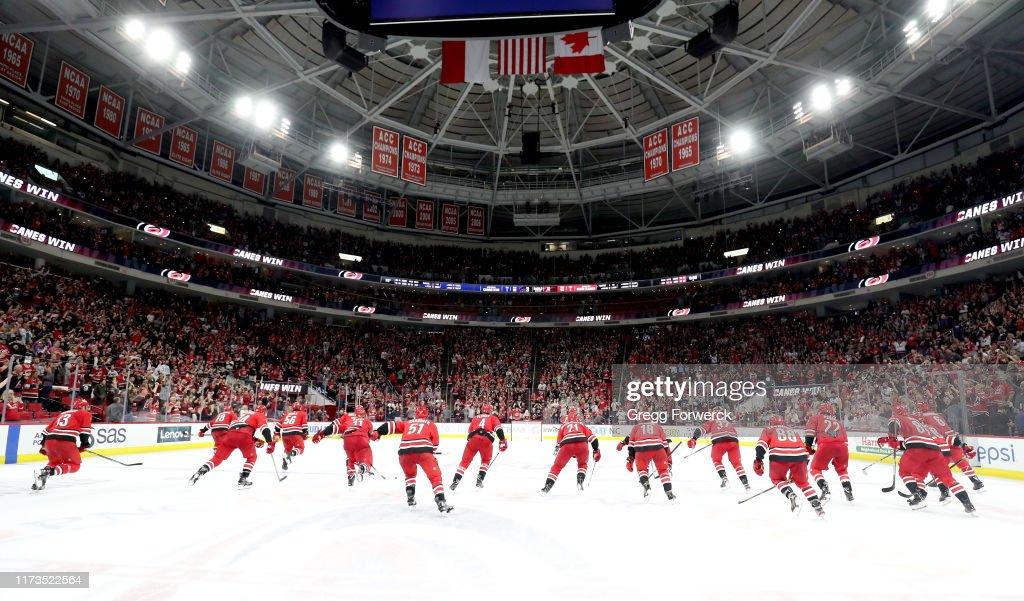 Montreal Canadiens v Carolina Hurricanes : News Photo