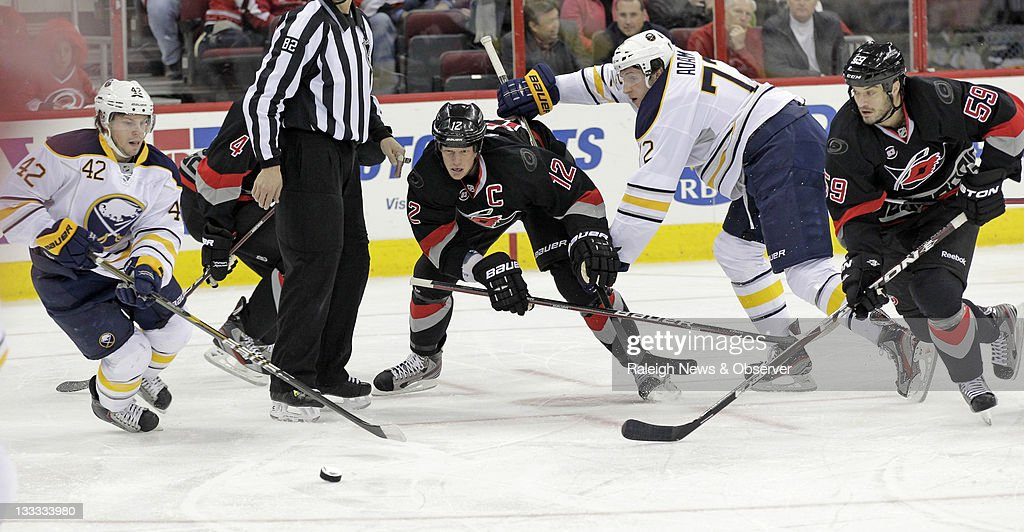 Sabres v Hurricanes : News Photo