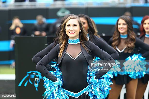 The Carolina Top Cats perform during the NFL game between the Kansas City Chiefs and the Carolina Panthers on November 13 at Bank of America Stadium...