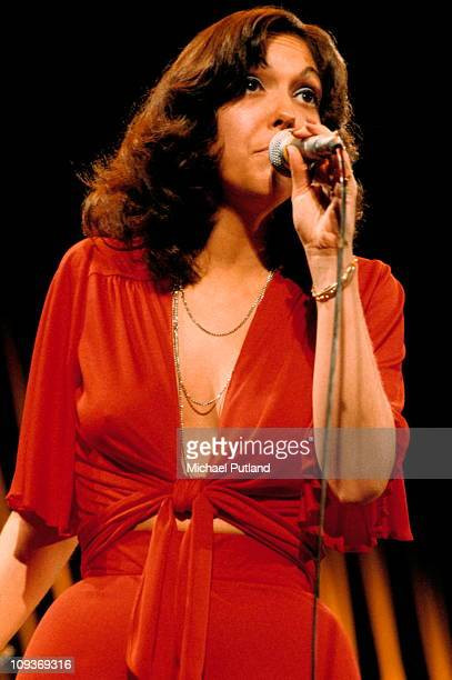 The Carpenters perform on stage London 22nd February 1974 Karen Carpenter