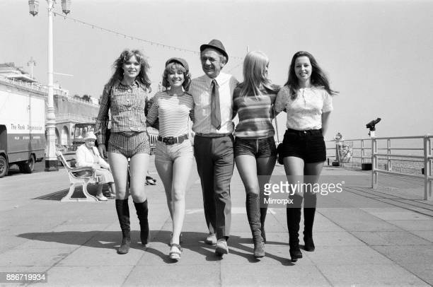The 'Carry On' film team are making a new epic down at Brighton called 'Carry On at Your Convenience' The occasion for the trip to Brighton is the...