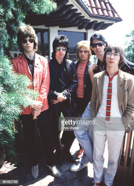 The Cars 1978 Elliot Easton David Robinson Benjamin Orr Ric Ocasek and Greg Hawkes