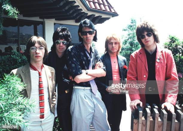 The Cars 1978 Greg Hawkes David Robinson Ric Ocasek Benjamin Orr and Elliot Easton