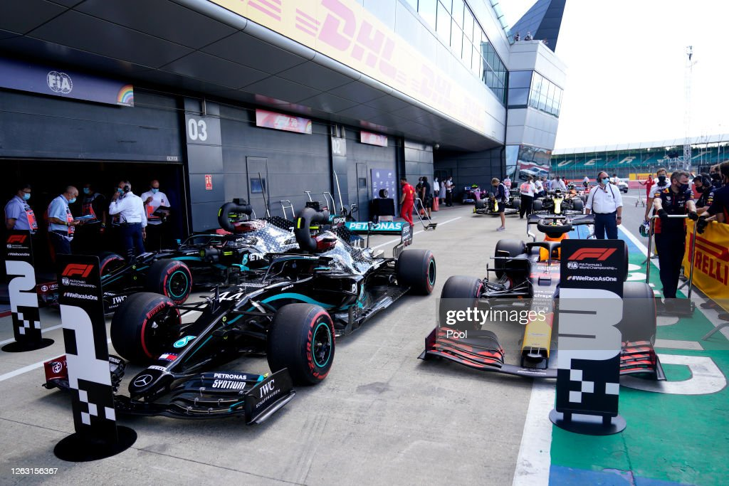 F1 Grand Prix of Great Britain - Qualifying : News Photo