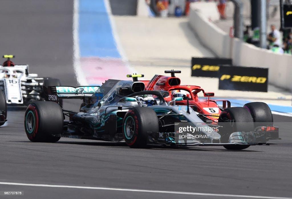 AUTO-PRIX-F1-FRA-RACE : News Photo