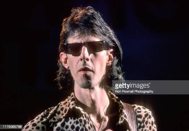 The Cars singer/songwriter Rick Ocasek performs at The Paradise Theater June 29 1978 in Boston MA.