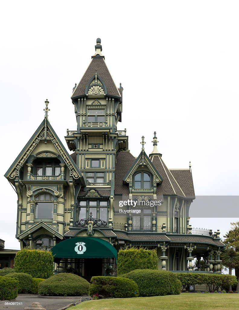 The Carson Mansion is a large Victorian house located in Old Town