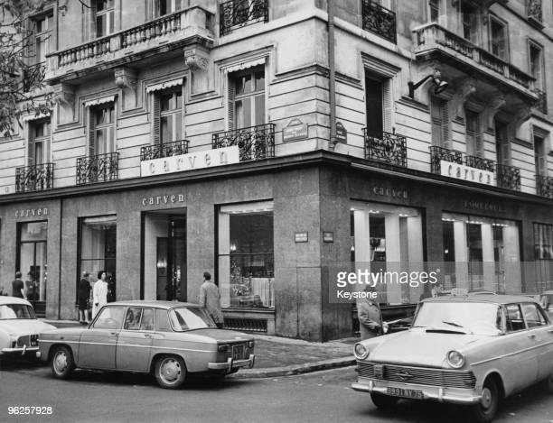 The Carven fashion house on RondPoint des ChampsElysees Paris 1965