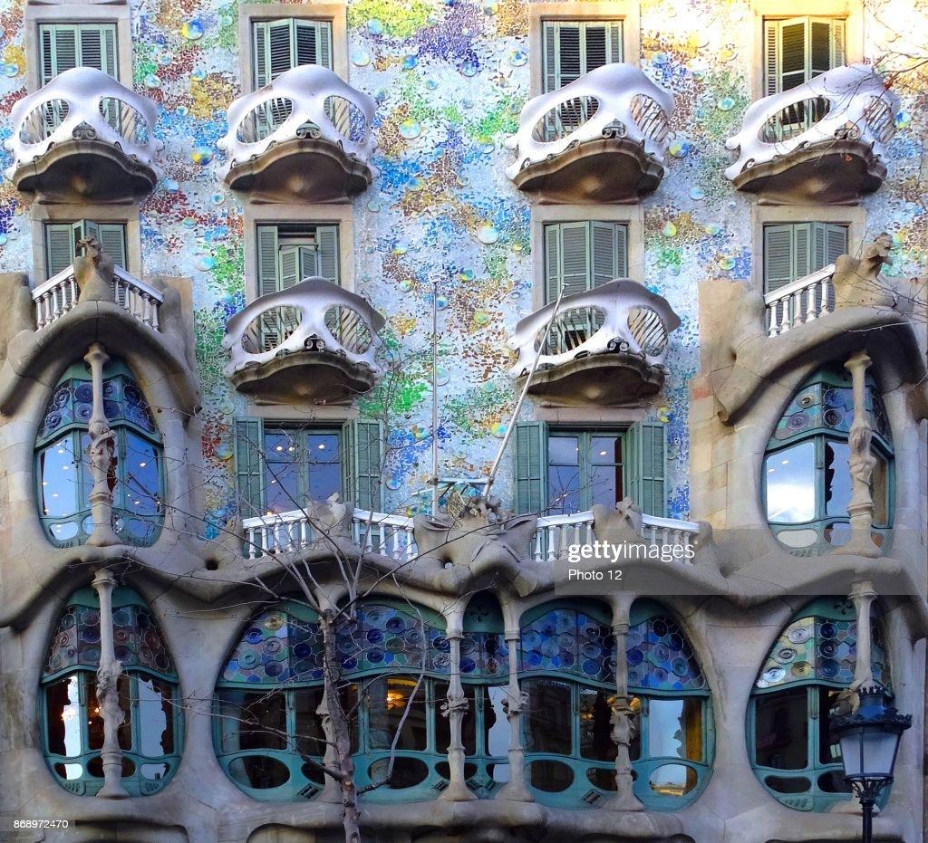 The Casa Batllo. : News Photo