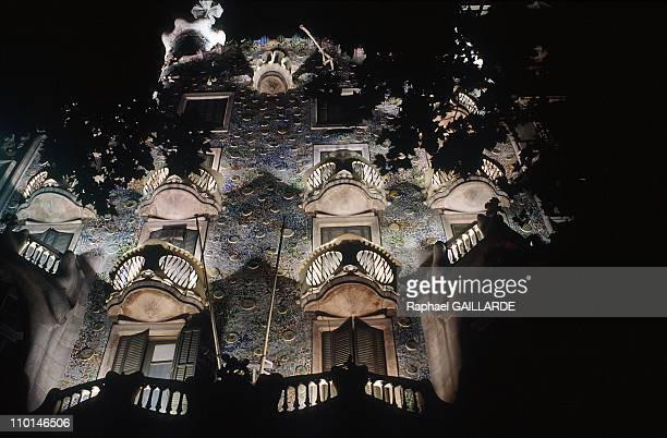 The 'Casa Battlo' of Gaudi on sale at Sotheby's in Barcelona Spain in July 1991
